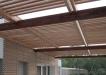 Pergola din lemn de stejar - Placare fatada