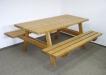 Masa cu bancute din lemn masiv