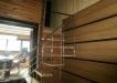 Balustrada inox si trepte din lemn
