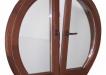 Fereastra forme curbe cu geam termopan - esenta molid