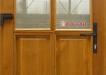 Usa de exterior din lemn de stejar (usaext-11) vedere interiorul casei