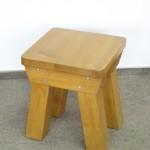 Scaun rustic din lemn